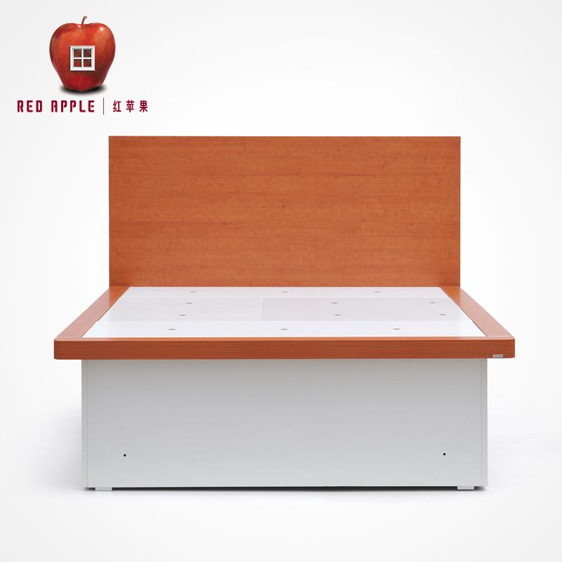 红苹果板式单/双人床R802HH-B