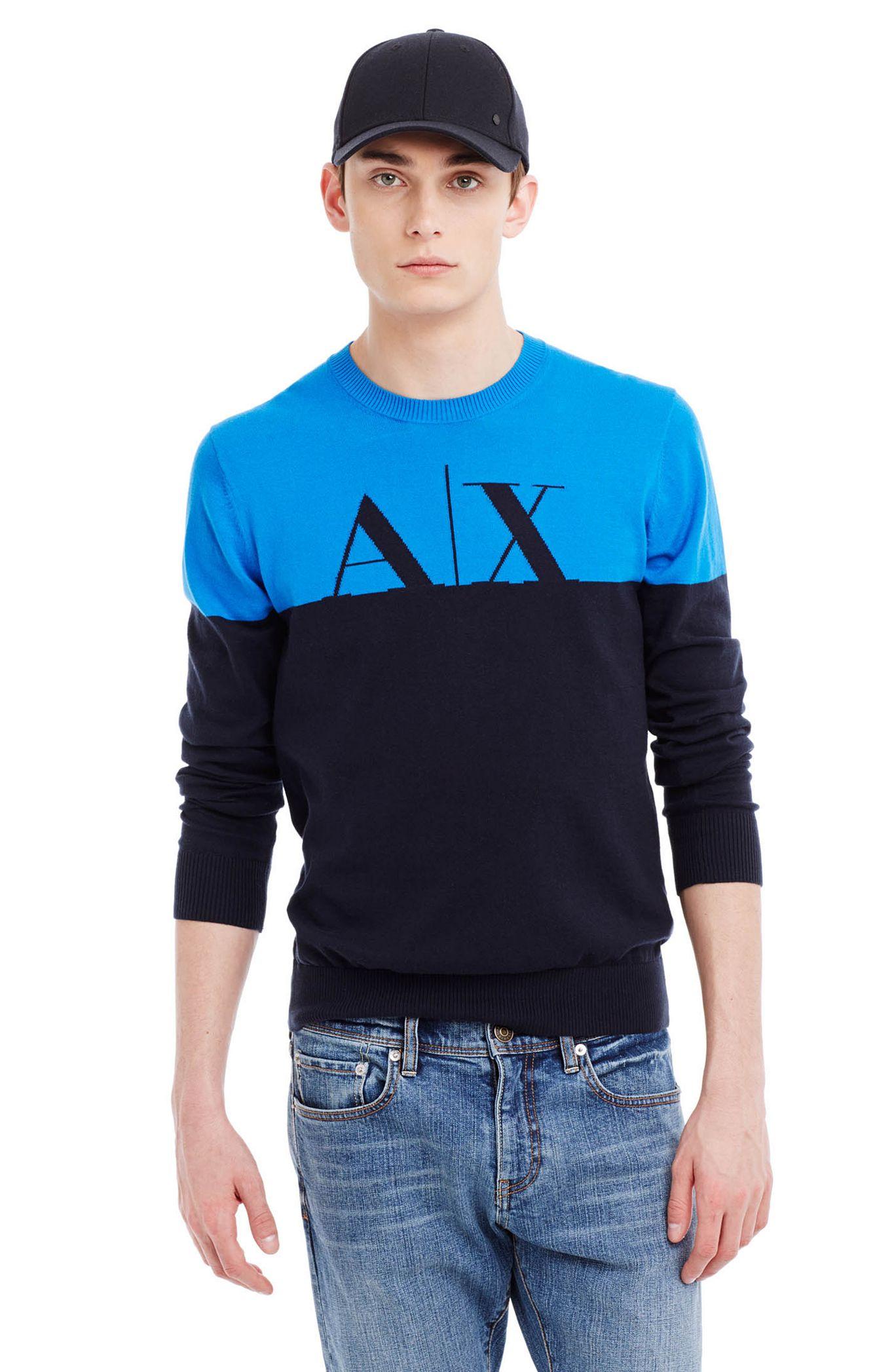Свитер мужской Armani  2015 AX Exchange женская рубашка armani 85 ax 2015 j5c552