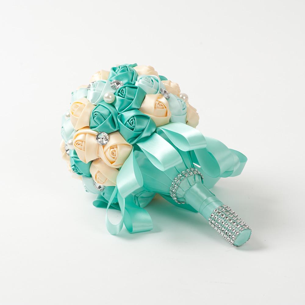 Букет невесты   Tiffany ян сестры и пион букеты букеты невесты держа букет подружек невесты держа чай роза