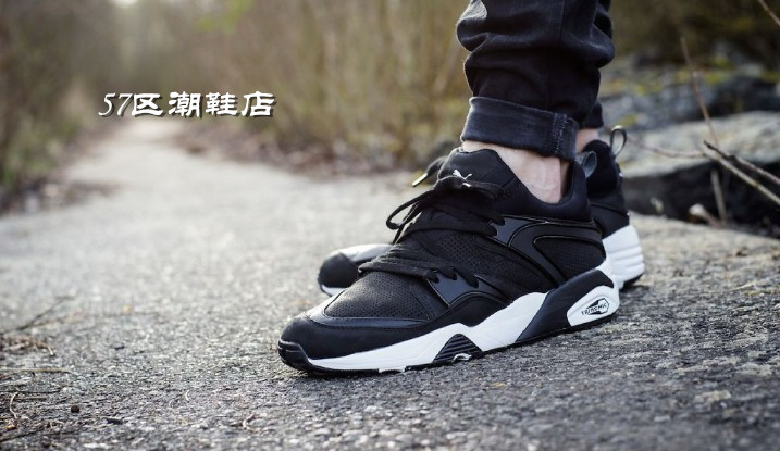 Кроссовки Puma  Trinomic Blaze Tech Black tom tailor модные джинсы tom tailor pb62032490071 1102