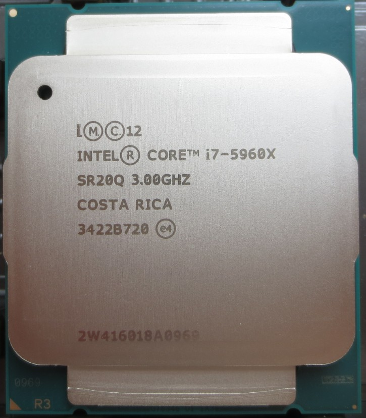 Процессор OTHER INTEL I7-5930K I7-5960X CPU 400 процессор other e5450cpu co 771 3 0g l5420 e5440