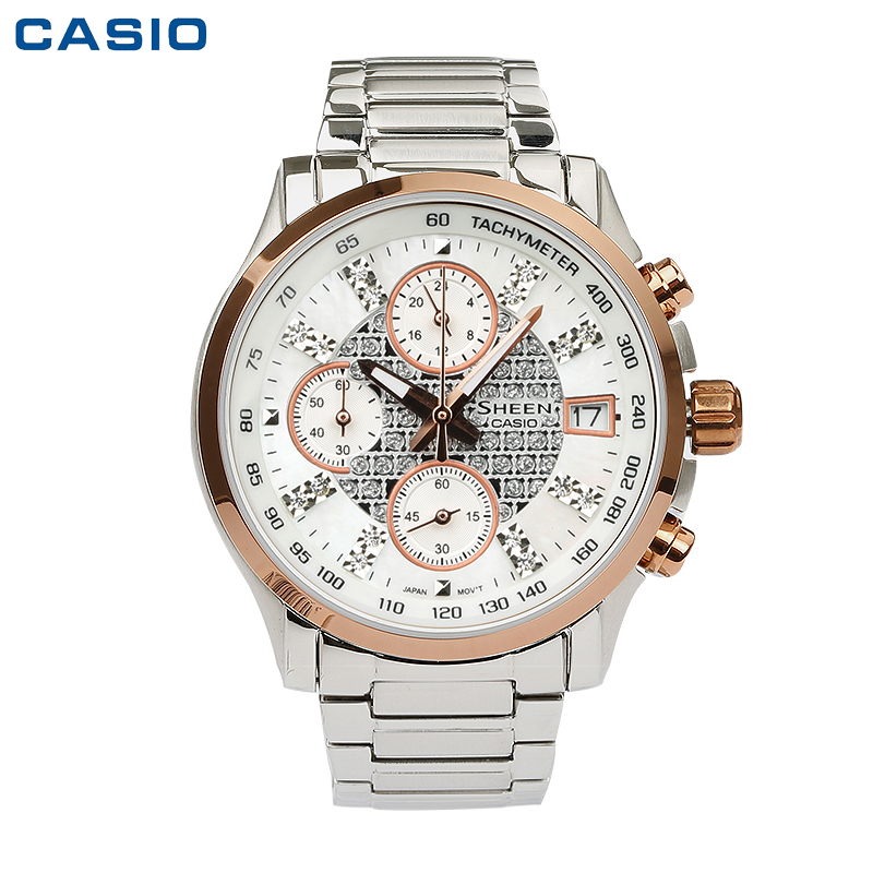 Часы CASIO Sheen SHN-5016D-7A женские часы casio shn 3013l 7a