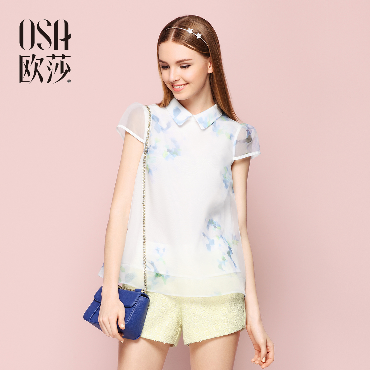 женская рубашка OSA sc505016 2015 платье osa kq424004 2015
