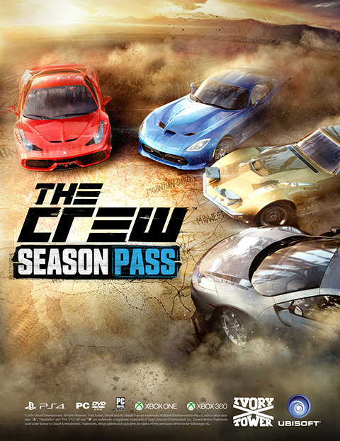 Компьютерная игра   PC Uplay The Crew Season Pass DLC KEY