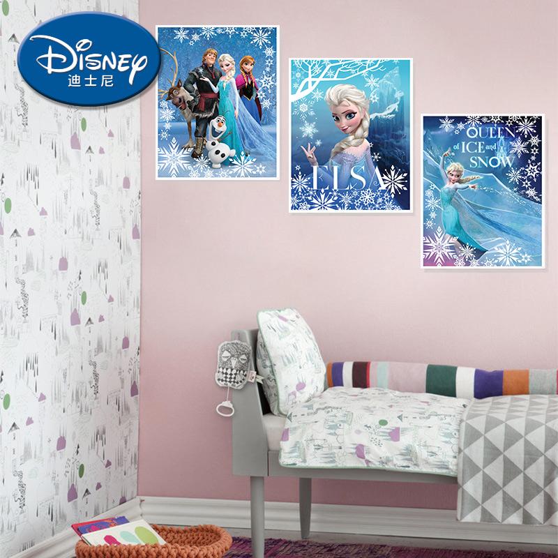 酷漫居迪士尼挂画 冰雪奇缘公主