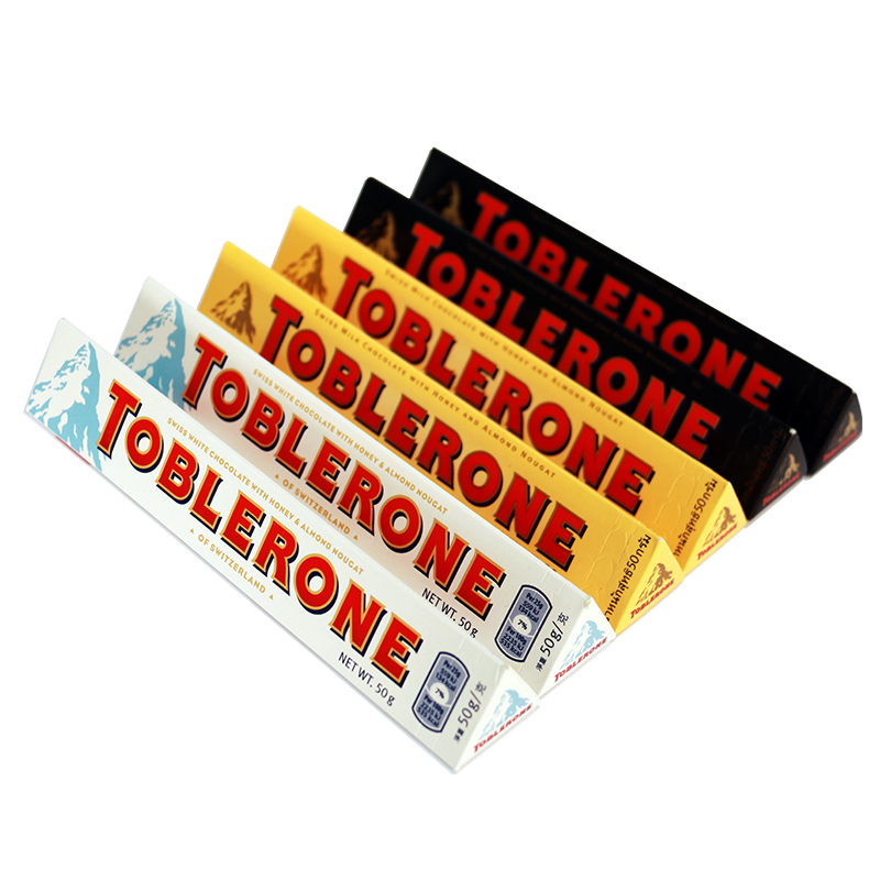 Switzerland triangle  Toblerone 50g*6 300g toblerone triangle toblerone tiny 300g