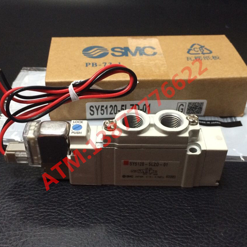 Пневматические детали ATM  SMC SY3120-5LZD-M5/9120/7120/SY5120-6LZD-01/5GD japan smc pneumatic solenoid valve sy5120 5lzd 01 10 times penalty upon each false corn sy5120