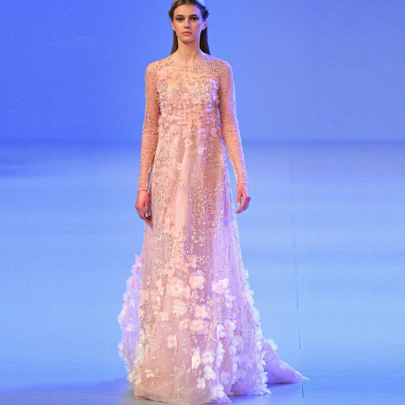 Вечернее платье IDO  Elie Saab поло синее с принтом ido ут 00004176