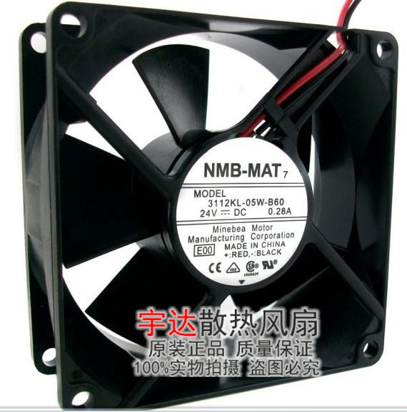 Вентилятор охлаждения NMB 8032 8CM 24V0.28A 3112KL-05W-B60 sw 05w