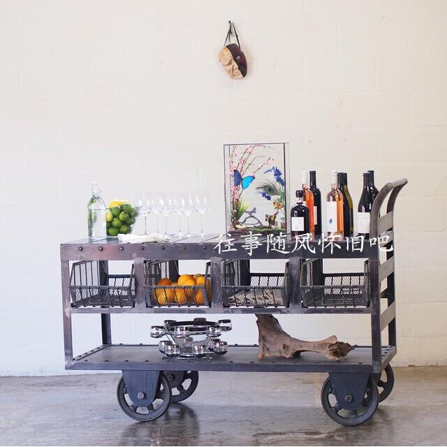 сервировочный столик ariva 01wd Сервировочный столик   Loft