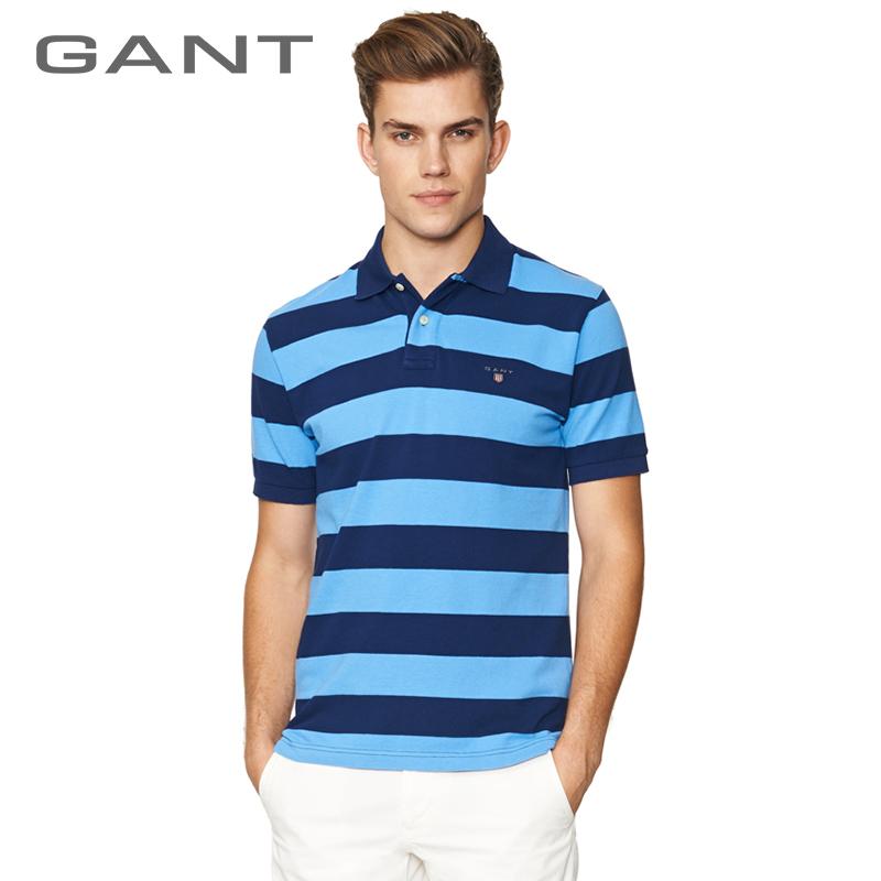 Футболка мужская Gant 222605 Polo gant часы gant w70471 коллекция crofton
