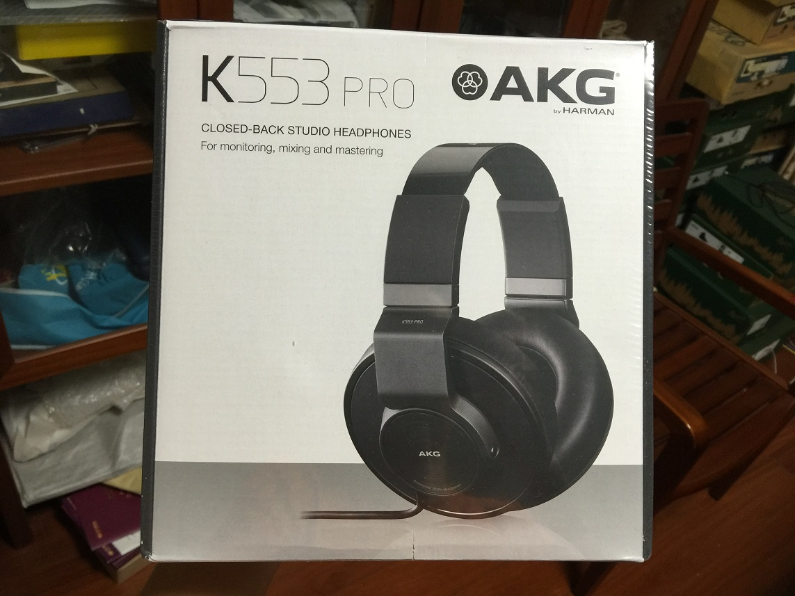 Наушники AKG  K553 Pro Studio Headphone akg y 20u