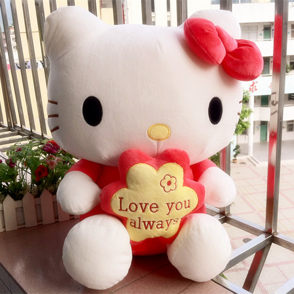 Мягкая игрушка zkt20141113 Hello Kitty KT cxzyking 20cm sweet new kt cat hello kitty plush toys cute hug mushroom hello kitty kt cat pillow dolls for kids baby girl gift