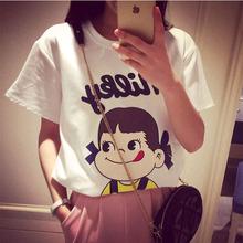 大码女装 新款韩版短袖T恤