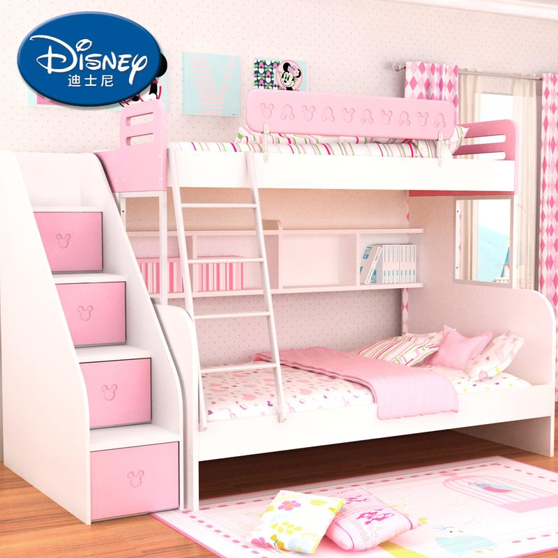 酷漫居迪士尼儿童上下床