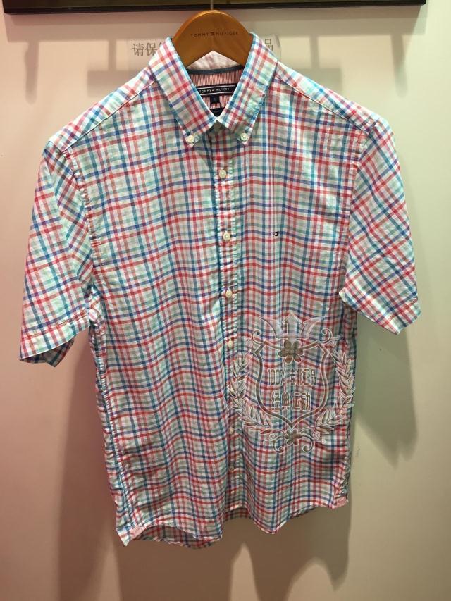 Рубашка мужская Tommy hilfiger 0887877042ls/297 TOMMY-2015 0887877042LS-297