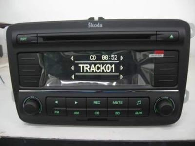 Автомагнитола Skoda  CD SD USB MP3