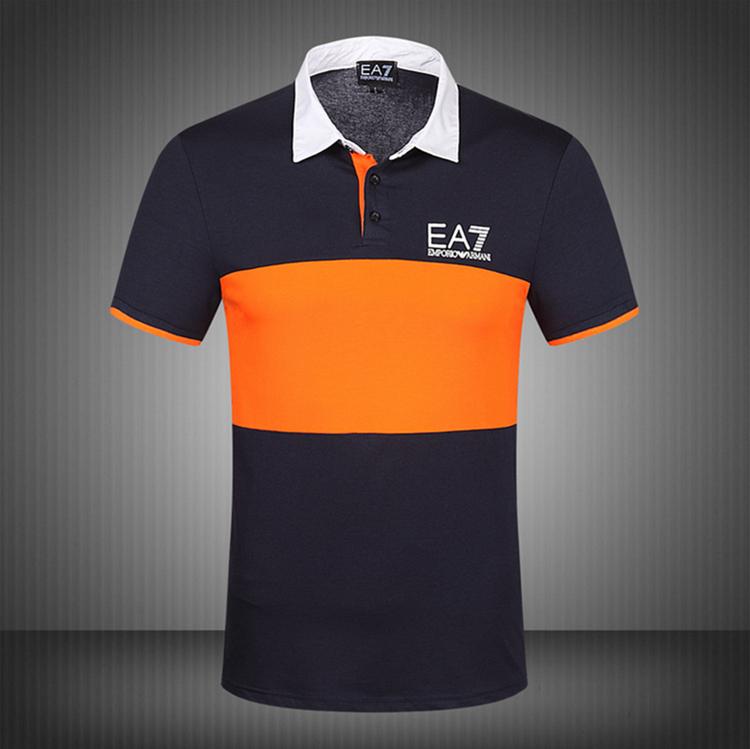 Рубашка поло epl014 EA7 2015 SS T-shirt Polo