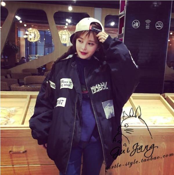 Женская утепленная куртка Ulzzang толстовка женская 2015 ulzzang