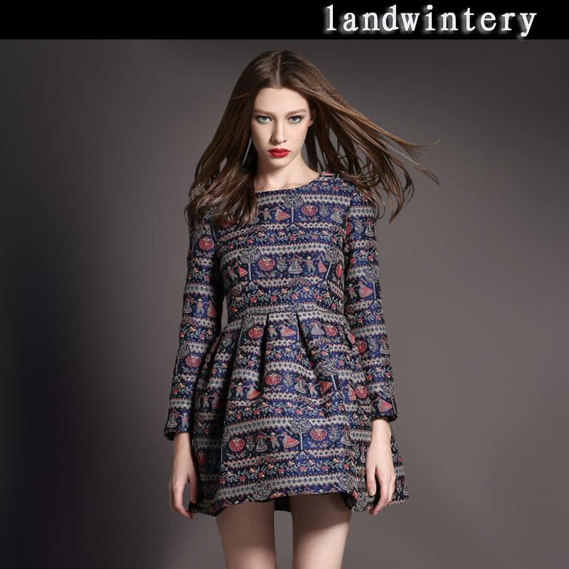 цена Женское платье Landwintery l12524 онлайн в 2017 году