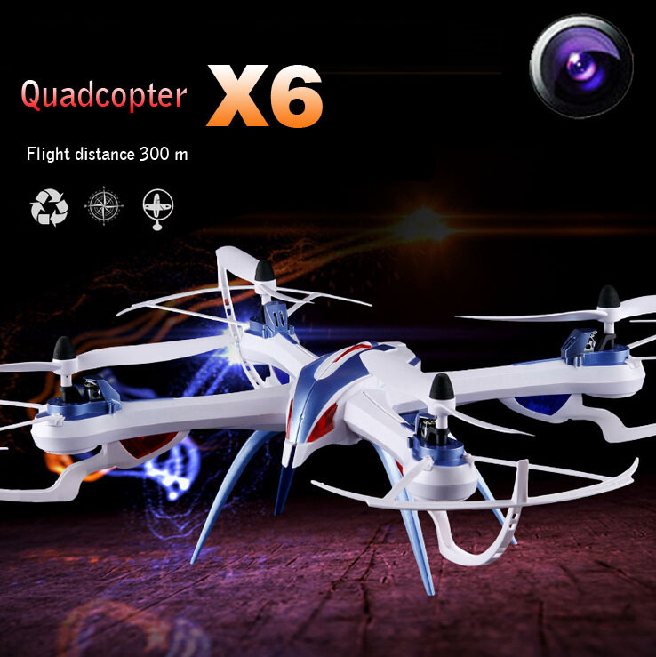 Вертолет на электро-, радиоуправлении ET  YiZhan Tarantula X6 5MP Camera 4CH RC Quadcopter Drone RTF yizhan tarantula x6 4 axis rc helicopter drone toy model can add wide angle 5mp or 2 mp camera with long remote distance 300m