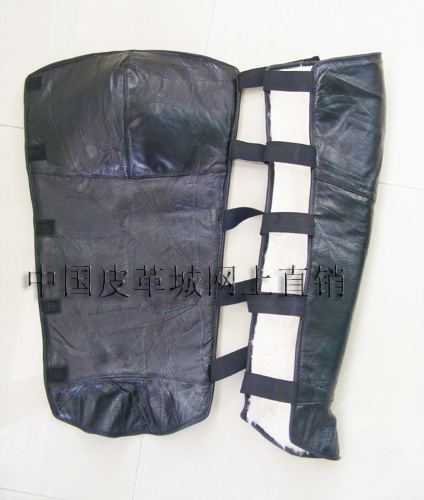 China leather produced from the
