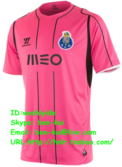Футбольная форма OTHER  14/15 Top AAA+ Portugal Porto FC Away Pink Jersey QUARESMA other 15