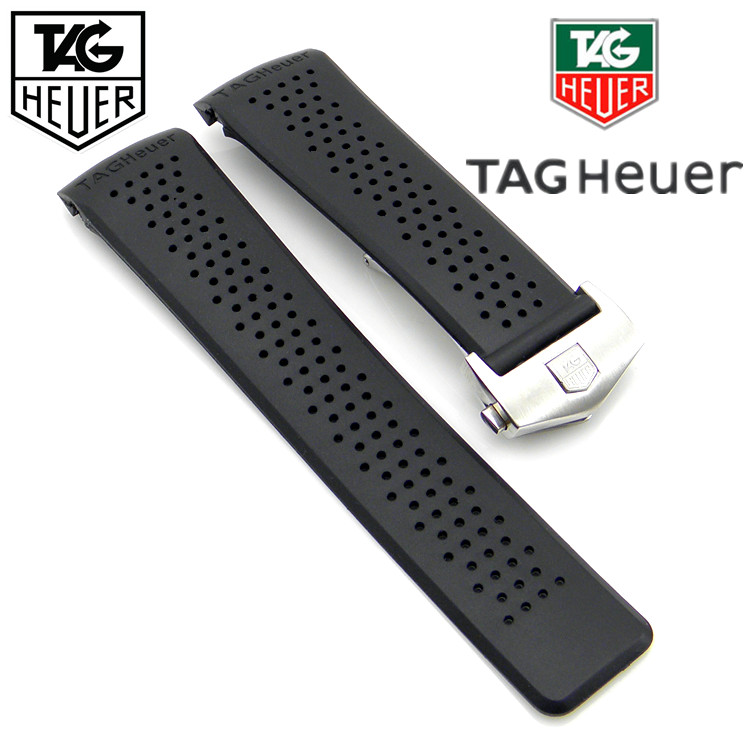 Часы Tag/Heuer Heuer TAG 22\24MM soft matte leather strap 22mm for heuer carrera 5 drive timer heuer monaco men s mechanical watch with black brown leather