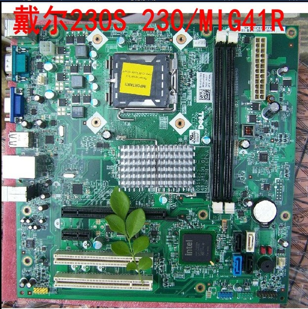 Материнская плата OTHER  Vostro 230S MIG41R DELL 560S G43T DM1 DDR3 материнская плата intel dell vostro 230 v230s 7n90w