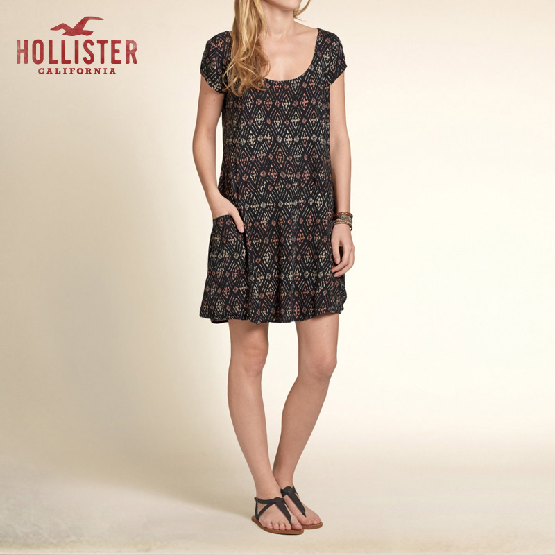 Женское платье Hollister 85806 Venice Beach hollister soldes