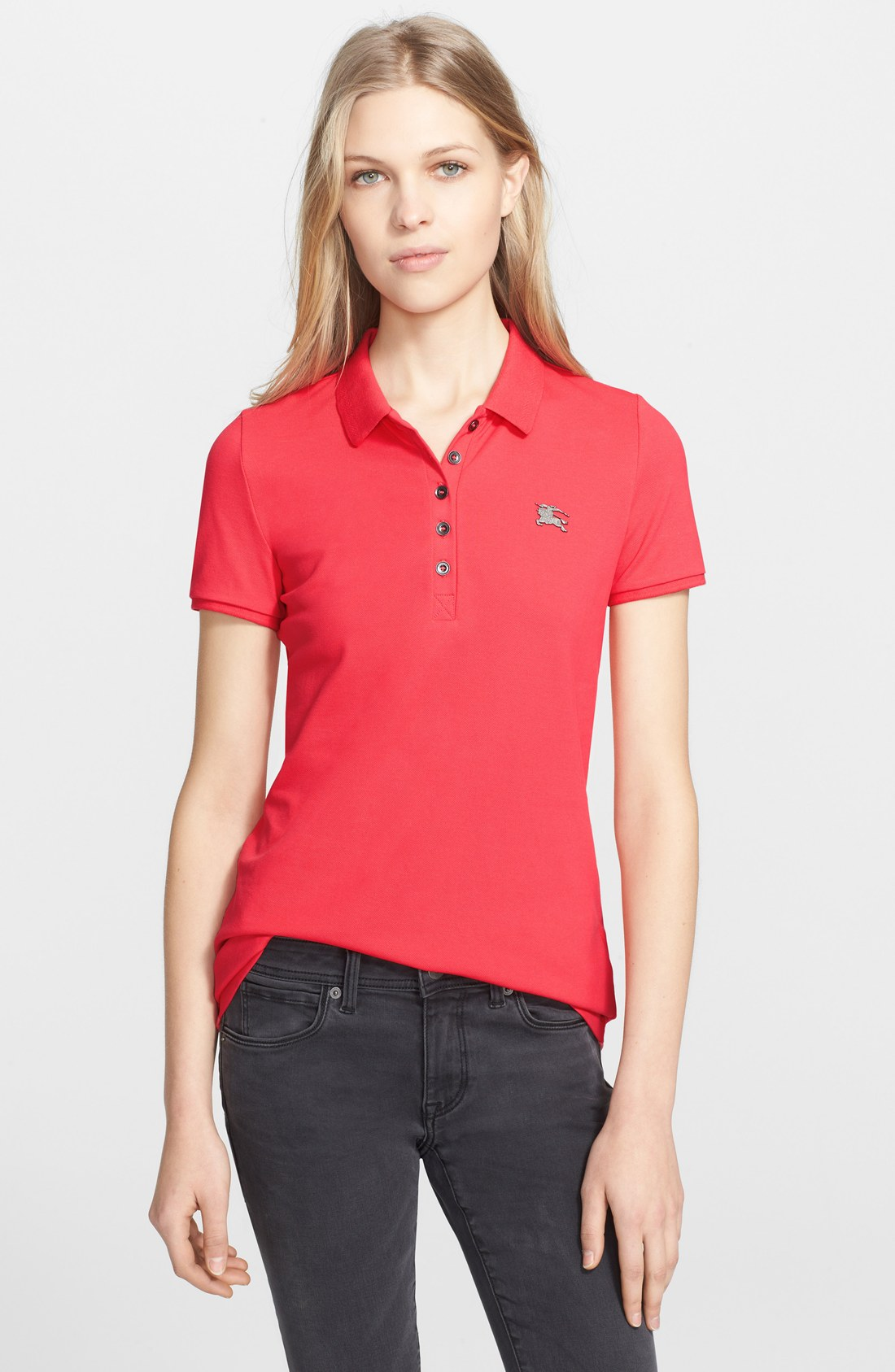 Рубашка поло Burberry  2015 Logo POLO чулочно носочные изделия the burberry pakistan polly burberry 80d logo