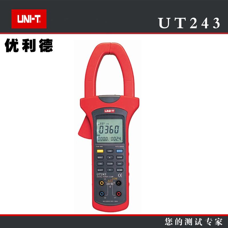 Токовые клещи UNI/T ut240 UNI-T UT241/UT242/UT243 измерительный прибор uni t ut243