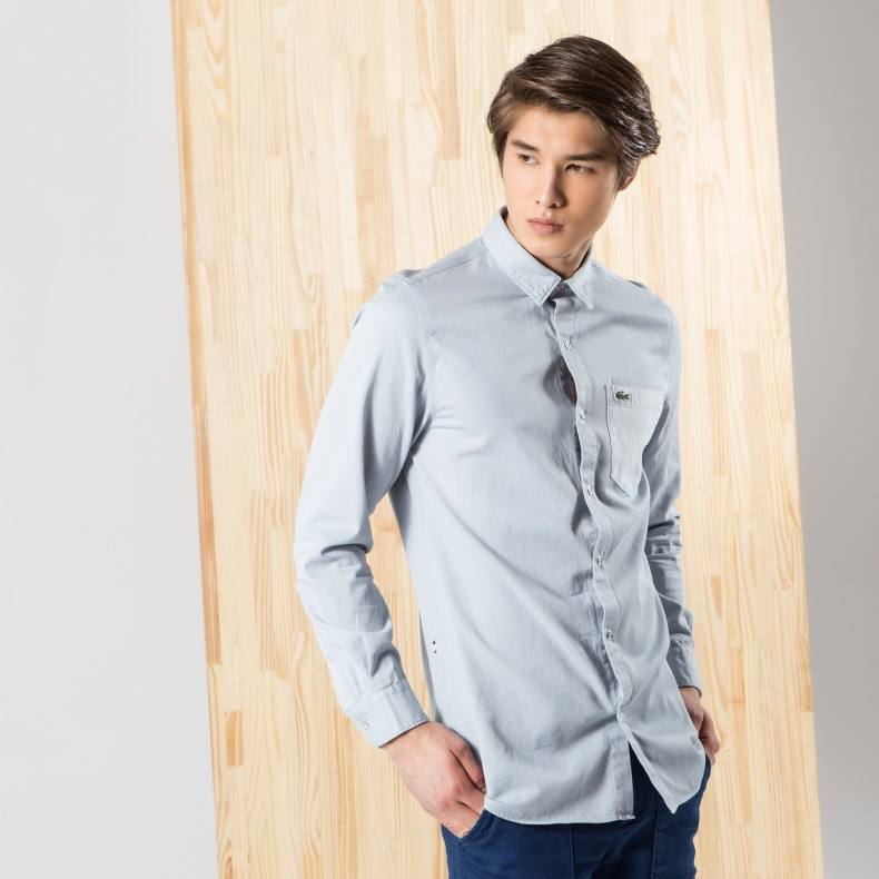 Рубашка мужская Lacoste ch0713dxhi1 lacoste lacoste poloshirt модель 25630919