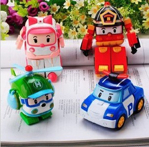 Игрушка Король войны Jiaqi toys 066/9 ROBOCAR Poli 4pcs set robocar poli korea kids toys robot transformation anime action figure toys for children