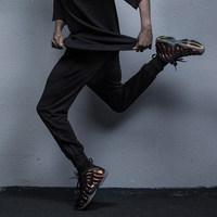 KISSFUNK 2017新款HyperBasic裤腿双侧拉链卫裤 舒适运动束脚裤男
