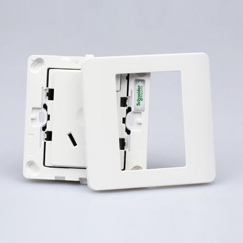 施耐德空调墙壁电源插座E8415/16CS WE