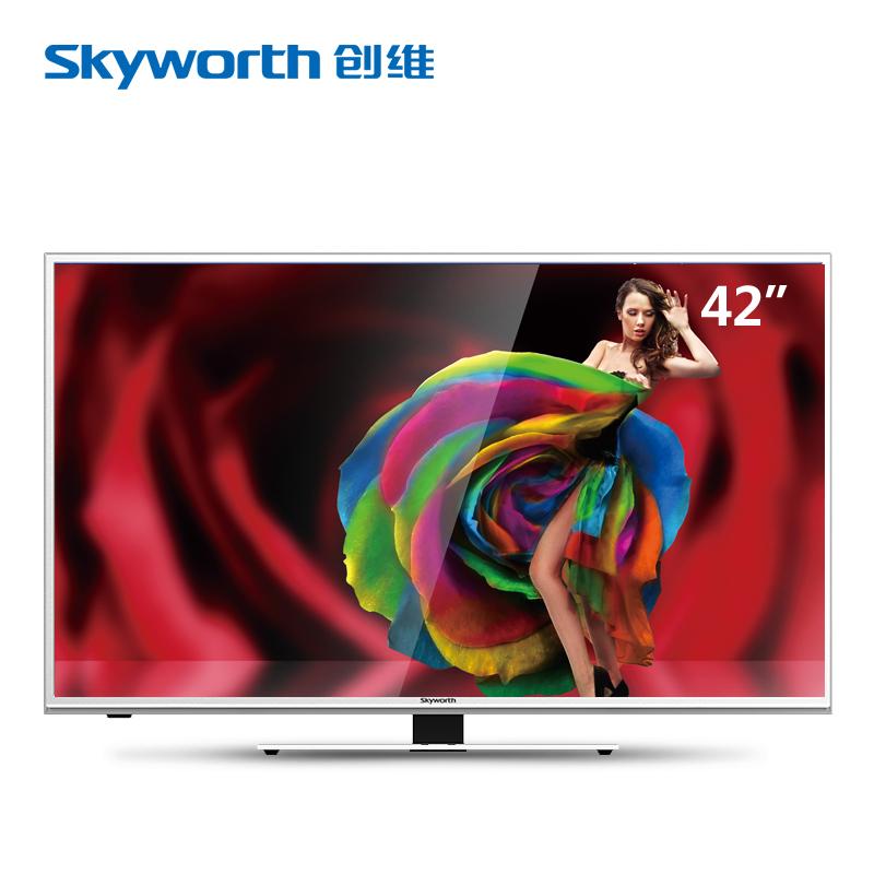 Skyworth/创维42吋USB播放超薄窄边LED液晶电视平板电视42E5CHR