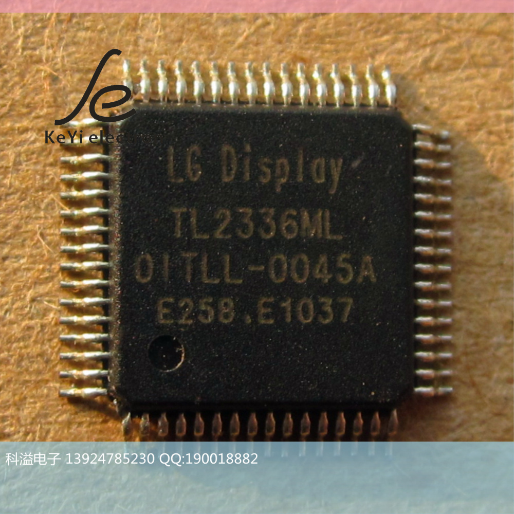 Интегральная микросхема Other brands TL2336ML TL2336ML 01TLL-0045A QFP64 10+ LG Display gp qfp64 0 5 ic test socket programming adapter qfp64 tqfp64 lqfp64 yamaichi ic51 0644 807 0 5mm pitch