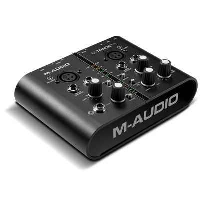 Аудио интерфейс M/AUDIO  M-AUDIO M-TRACK PLUS USB