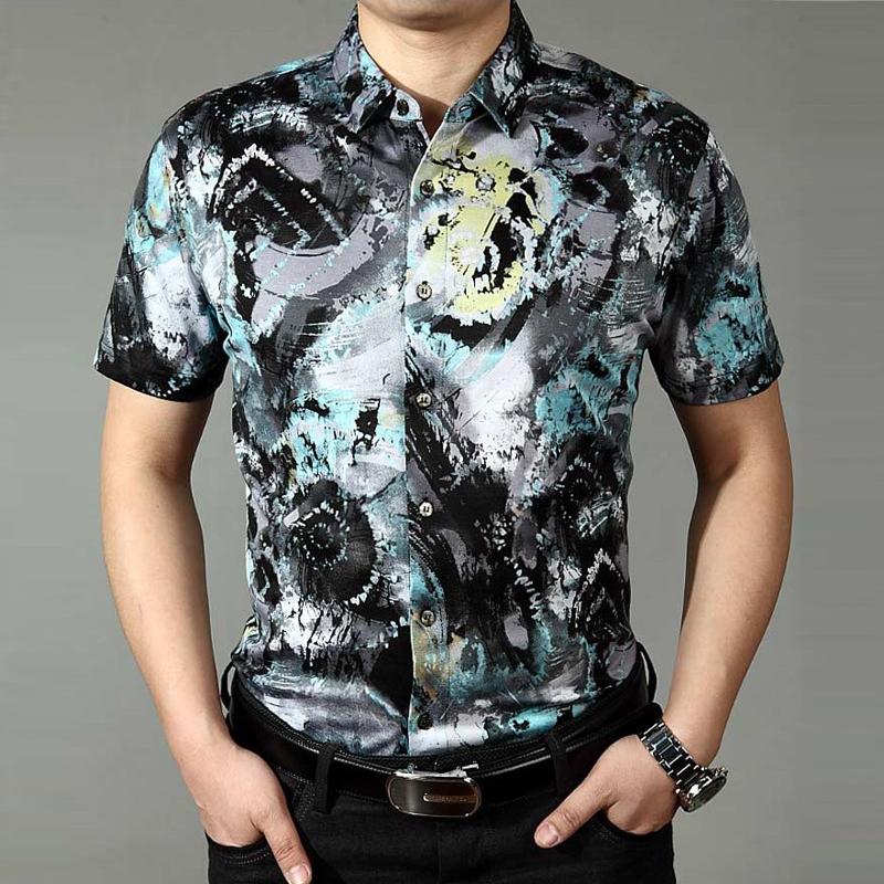 Рубашка мужская Blue swordfish xj7613 рубашка мужская blue swordfish xj7613