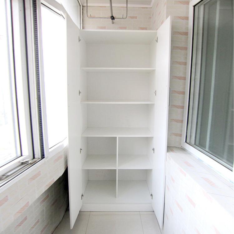 Гардеробный шкаф на лоджии..