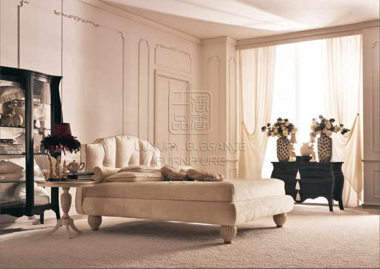 Кровать из массива дерева Luxury Elegance Furniture 1.5 TXZ15 кровать из массива дерева xuan elegance furniture