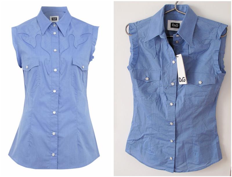 женская рубашка D & g 483 D&G 38 201 mosko женщинам