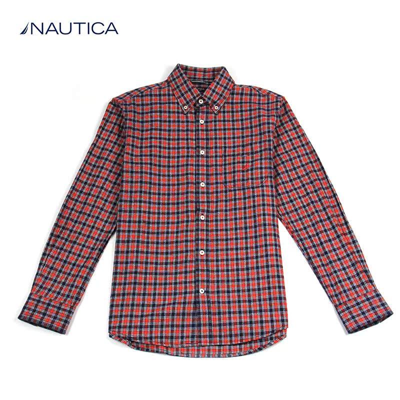 Рубашка мужская Nautica w33624 футболка мужская nautica vr1400