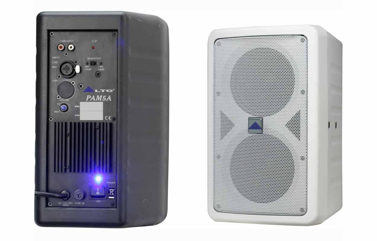 Звукоусилительный комплект Alto  PMA5A линейный массив alto sxa28p