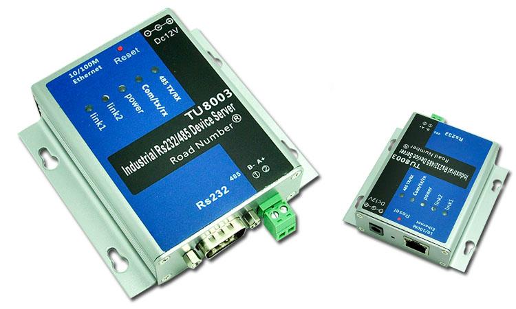 Сетевой маршрутизатор Серийный промышленный сервер Ethernet в последовательные интерфейсы RS232/485 модуль|протокол Modbus TCP шлюза