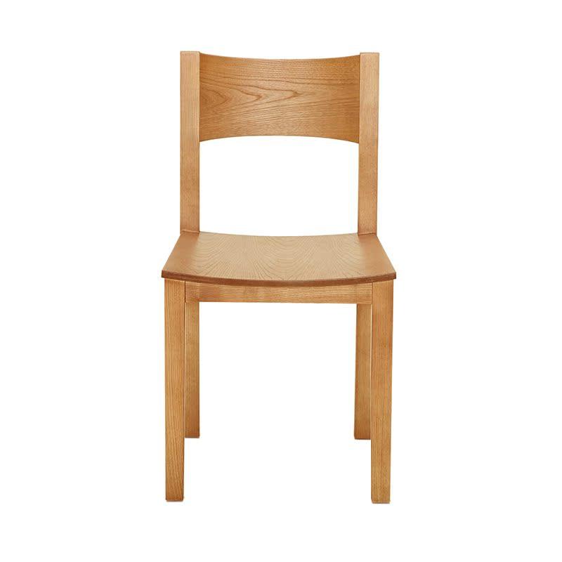 曲美家具弯曲木实木餐椅2011C-C1