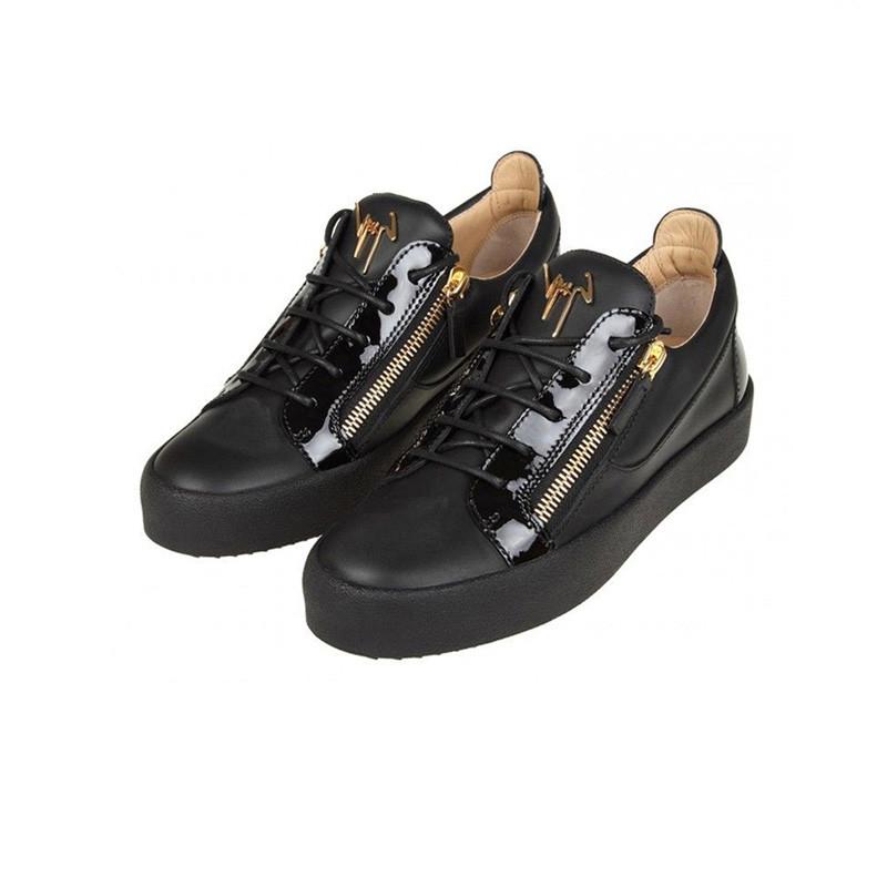 Giuseppe Zanotti鞋子男字母LOGO金属潮低帮GZ板鞋休闲鞋 RU70000