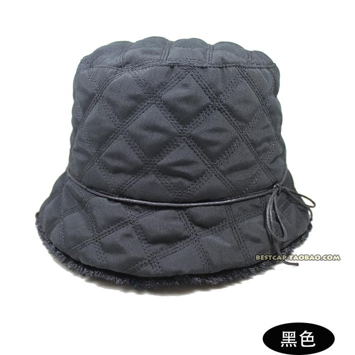 Головной убор Оригинальные однострочный Европы мягкий теплый женщин ведро шляпу старый стекались Рыбак Hat 15 новых Флэт Топ Зимняя Hat