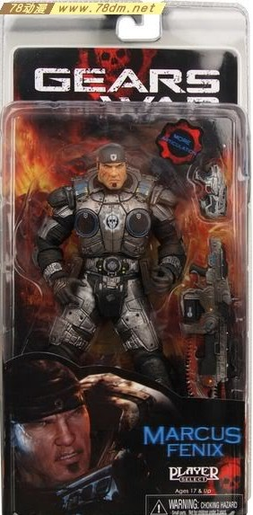 Куклы/ украшения/детали NECA GEAR OF WAR Marcus Fenix neca gears of war 2 kantus 7 inches and moving my hand do bulk doll mode